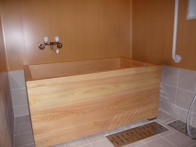 桧無垢浴槽